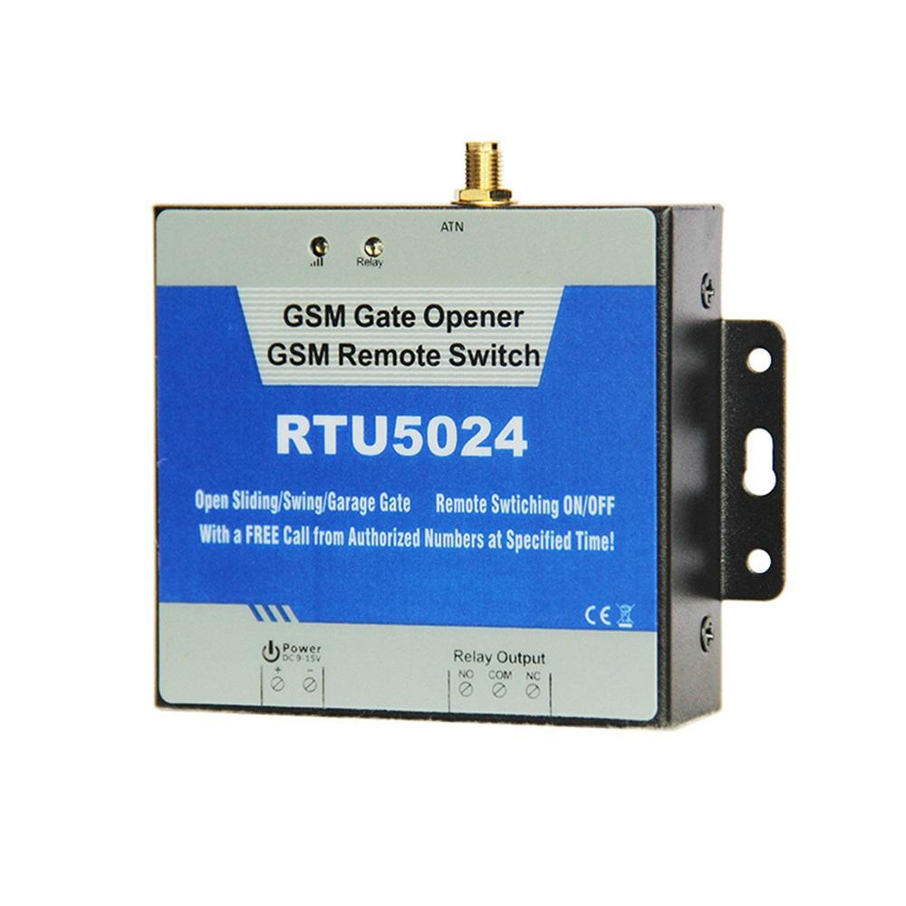 Rtu5024 Gsm Gate Opener Relay Switch Remote Access Control Wireless Replace Ac Unit Door
