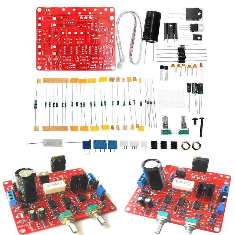 EQKIT® Constant Current Power Supply Module Kit DIY Regulated DC 0-30V 2mA-3A Adjustable