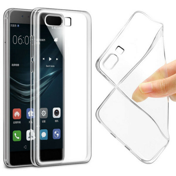 Transparent Soft TPU Protective Case Cover For Huawei P10/P10 Plus