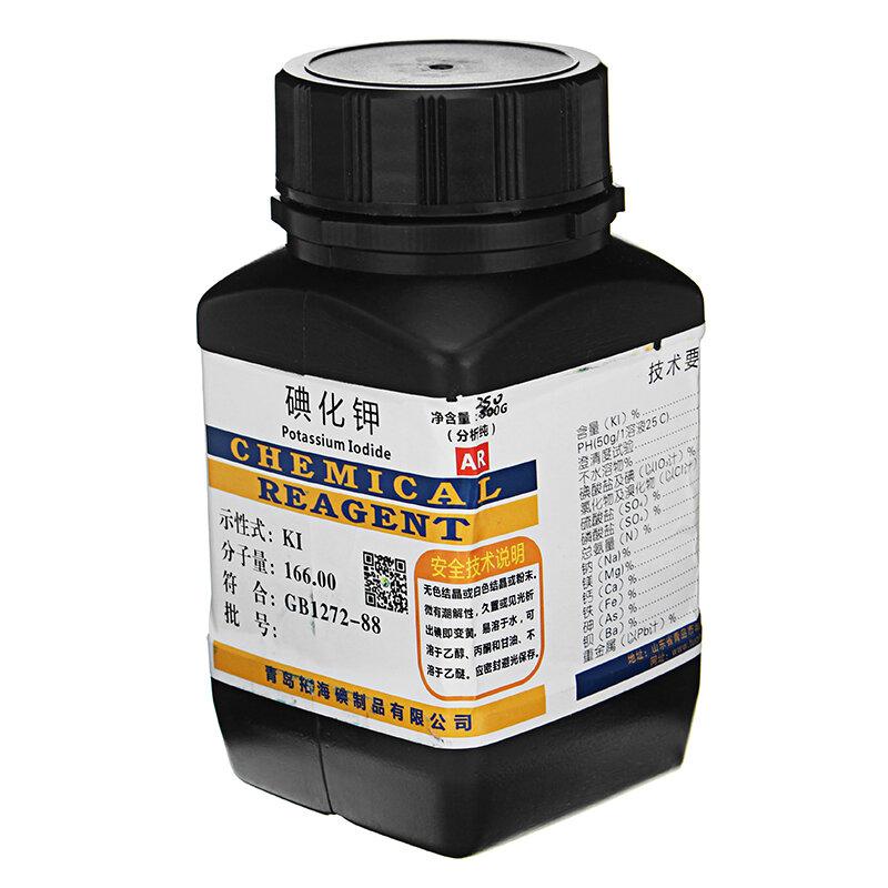 250g Potassium Jodide High Purity 99,9% AR Poeder Fijn Granulair Kristallen Lab Chemisch Experiment