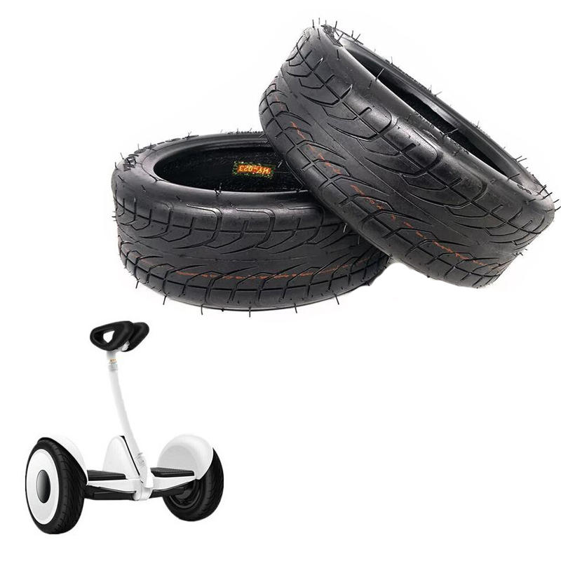 BIKIGHT 10inch Scooter Tire For Xiaomi Balancing Scooter 70/65-6.5 10/3.0-6.5 Vaccum Thickened Tire Off-Road Tubeless Vacuum Tyre