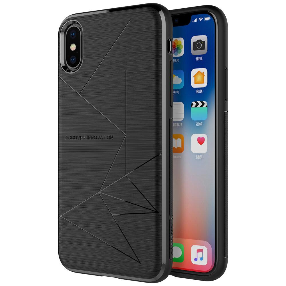 NILLKIN Suporte de Carregamento Sem Fio Com Proteção Magnética Caso para iPhone X