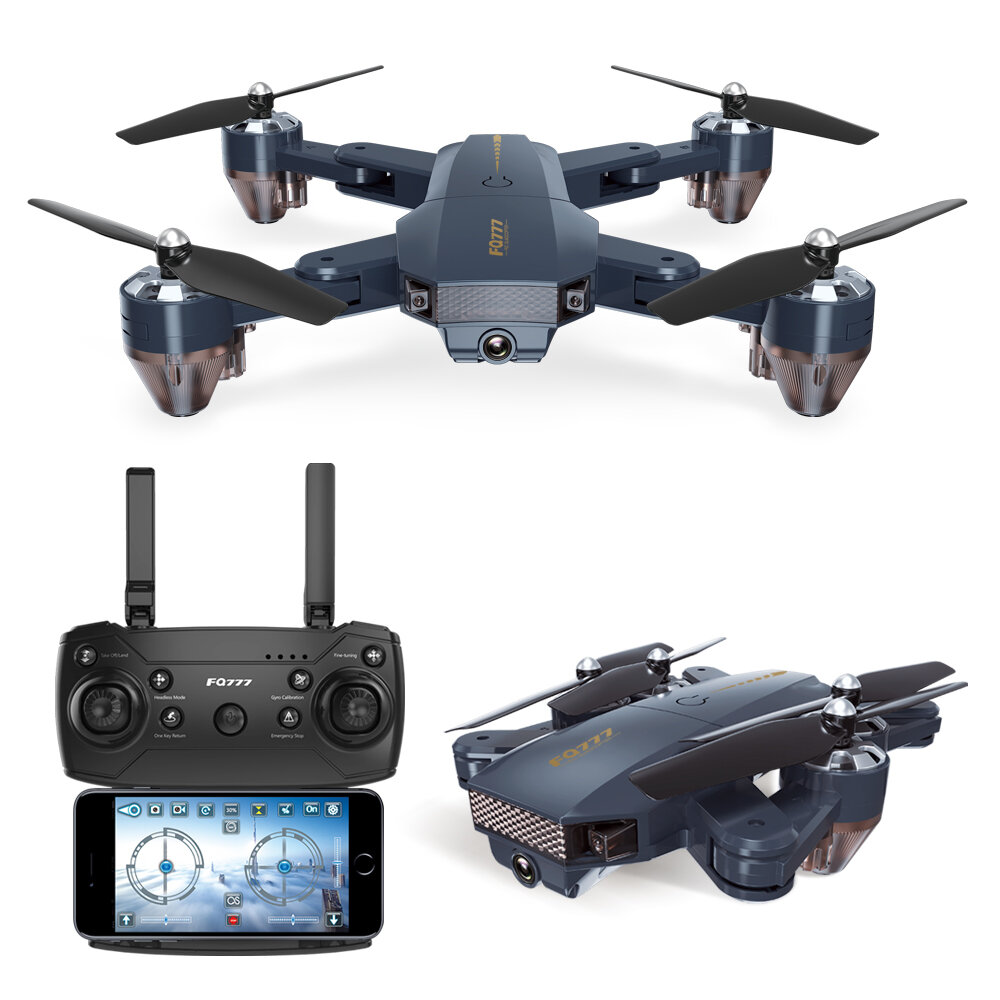64cf0b8ca92 FQ777 FQ35 WiFi FPV with 720P HD Camera Altitude Hold Mode Foldable RC Drone  Quadcopter RTF COD