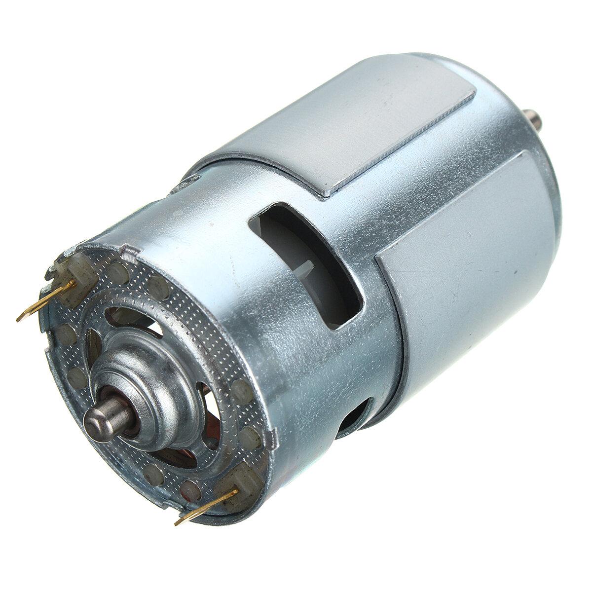 775 DC 12V-36V 3500-9000RPM Motor de Bajo Ruido de Alta Potencia de Gran Fuerza de Torsión