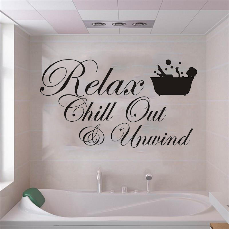 Miico 3D Creative PVC Wall Stickers Home Decor Mural Art Removable Special  Bath Words Wall Decals COD f3f8364cadae