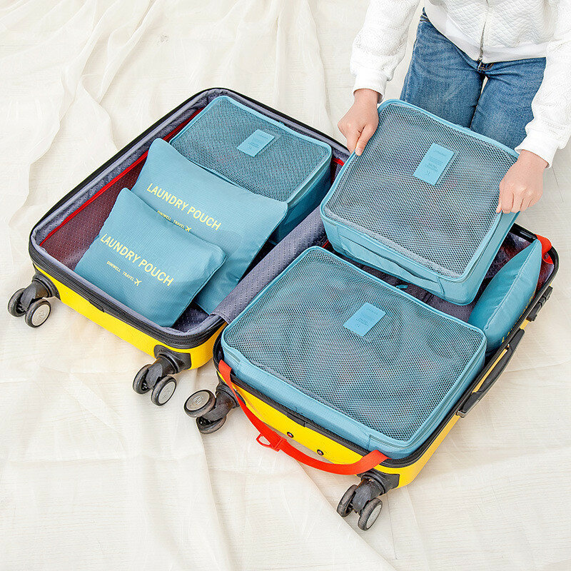 Other Warehouse. Send me purchase update on Messenger. Honana HN-TB8 6Pcs Waterproof Travel Storage Bags Packing Cube Clothes Pouch Luggage Organizer ...