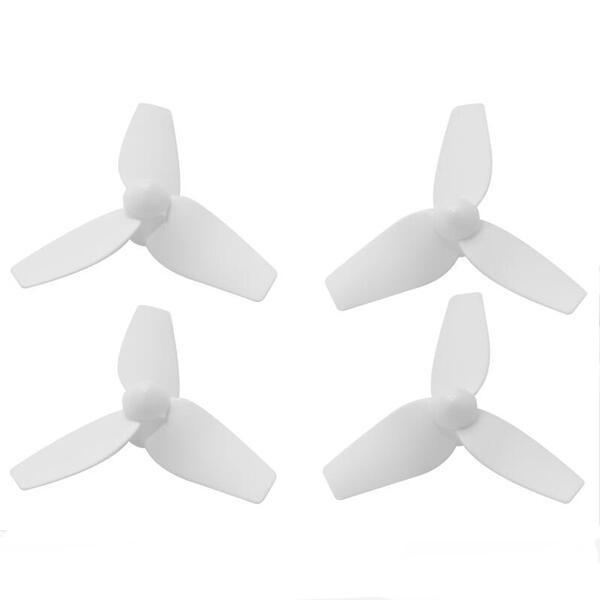 40mm 1.5 Inch 1.0mm Hole 3-Blade Bullnose Propeller 2 CW & 2 CCW for 1102 1103 Motor RC Drone