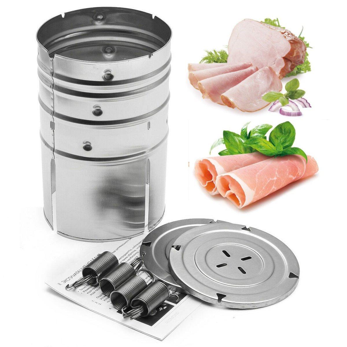 스테인레스 스틸 프레스 햄 메이커 고기 생선 가금류 해산물 수제 특선 주방 도구