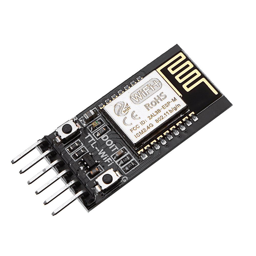 Geekcreit® DT-06 Wireless WiFi Serial مدخل وحدة انتقال شفافة TTL إلى WiFi متوافق مع بلوتوث HC-06 وحهة المستخدم ESP-M2