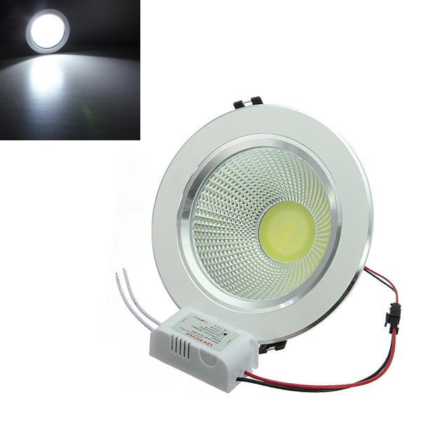 12 วัตต์โคบอลต์ LED เพดานแสงสะท้อนแสงเชลล์ไดรฟ์ 85-265V