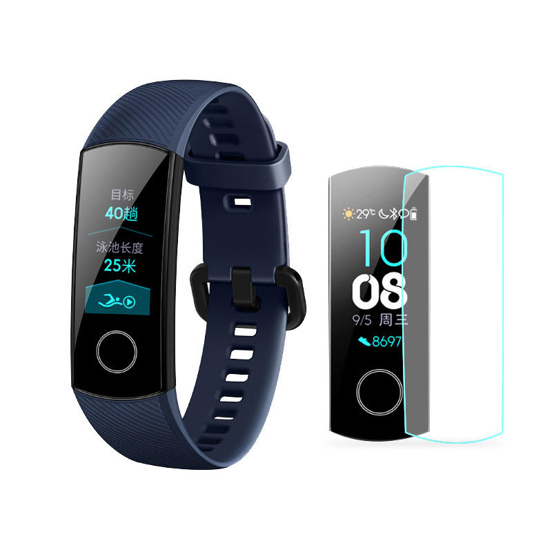 2 Pcs Smart Band Wristband Anti-scratch Screen Protector For Huawei Honor Band 3 High Quality Tpu Soft Protection Film Consumer Electronics