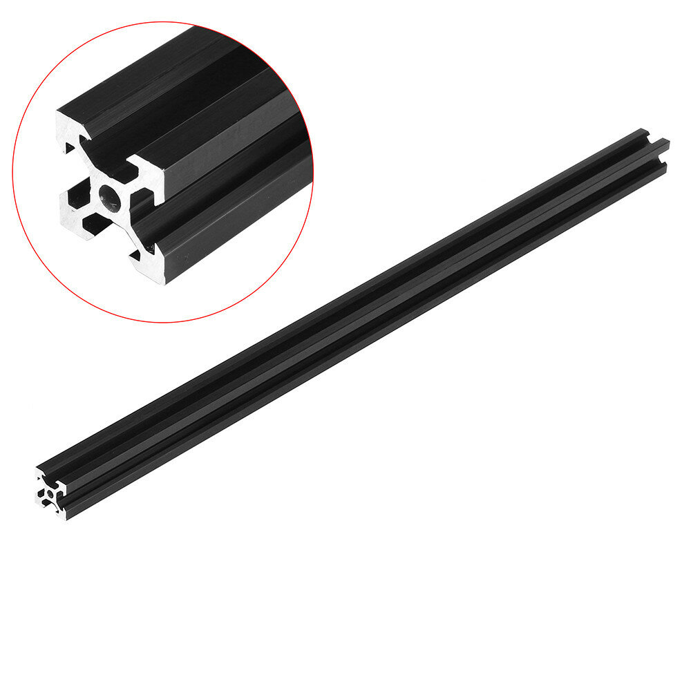 Machifit Black 2020 V-Slot Aluminum Profile Extrusion Frame for CNC Laser Engraving Machine