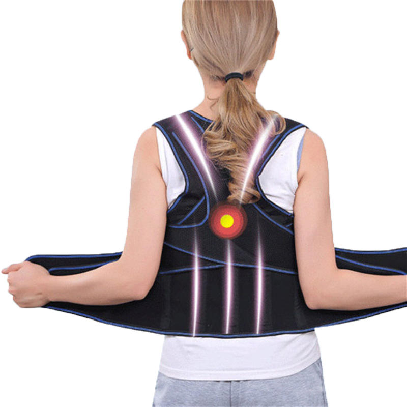 Unisex Adjustable Hunchbacked Posture Corrector Lumbar Back Support Brace Correction Belt