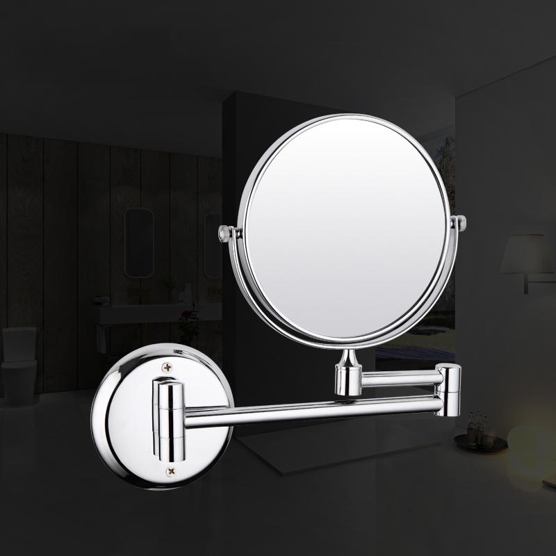 Frap F6106 And F6108 Wall Mounted Chrome Finished Bathroom Accessories Double Sided Mirrors
