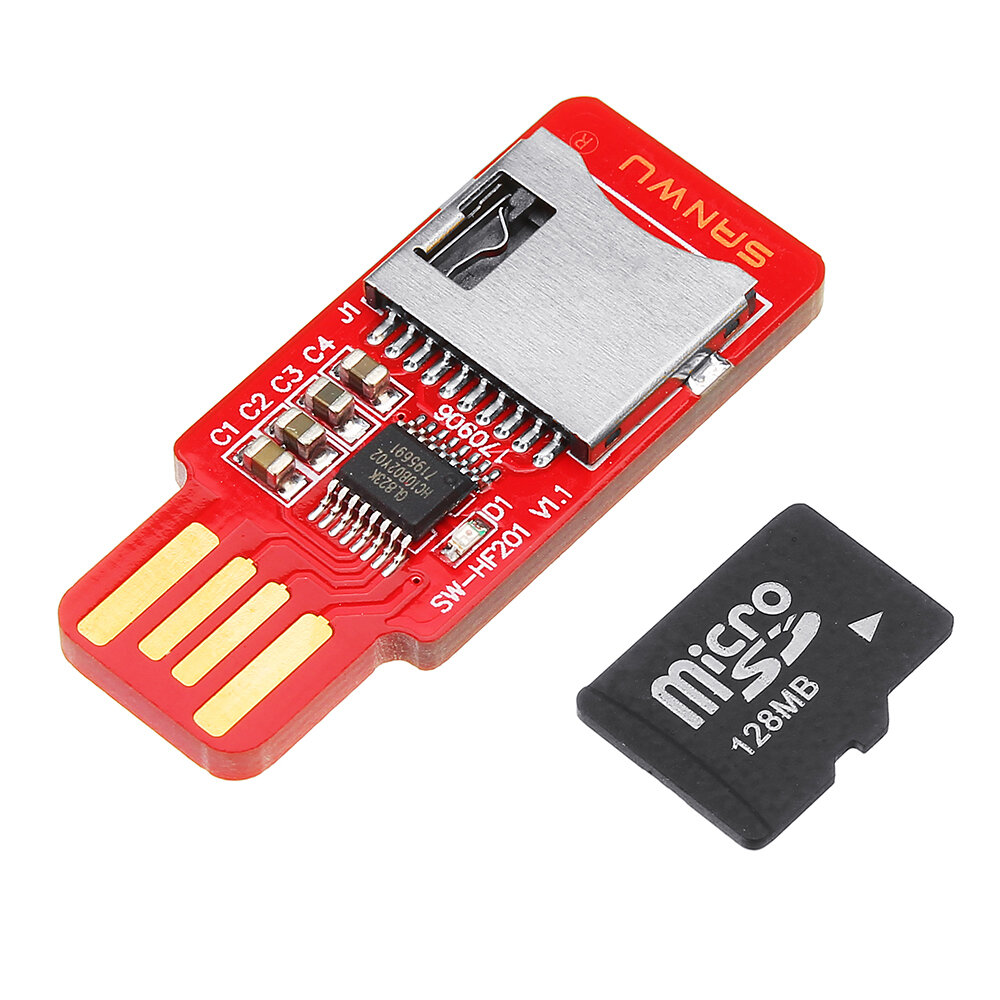 834ce6bc99b SANWU HF201 Readable And Writeable TF Card Reader Micro SD Card   Mobile  Phone Memory Card T-Flash Card Module Support Plug And Play Hotplug COD