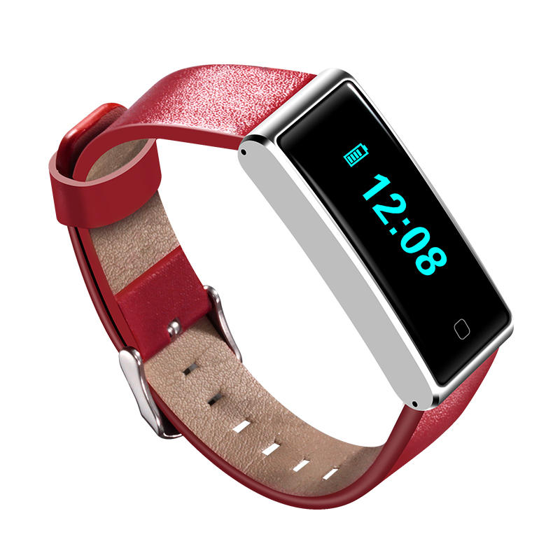 NFC QS60 Heart Rate ECG Tracker Sport Activity Smart Wristband for Mobile Phone