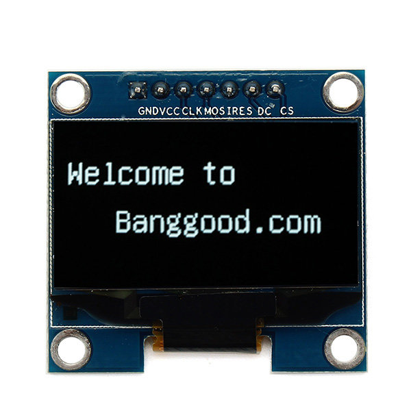 1.3 Inch 7Pin White OLED 12864 SPI Interface LCD Display Module For Arduino