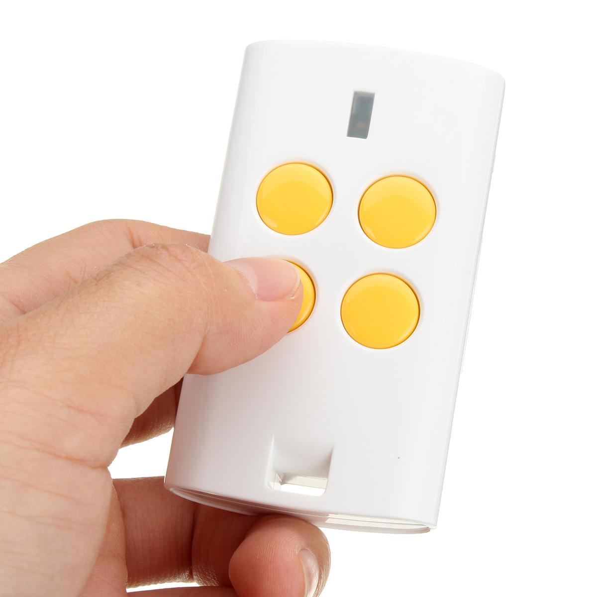 Le commutateur à télécommande universel de porte de garage universel de 4 boutons 280-868MHz adapte le code de roulement fixe