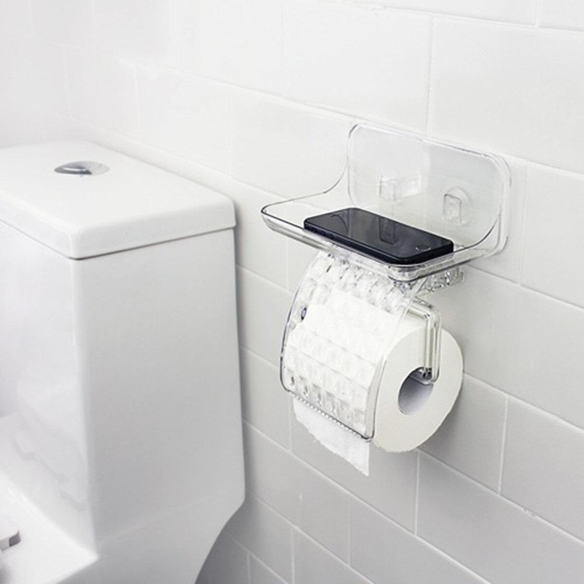 kcasa kc-ft68 support magique de tissu de salle de bain en papier