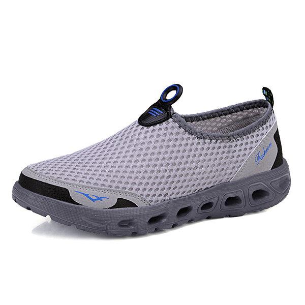 Мужчины полые из повседневной спортивной обуви в сетке