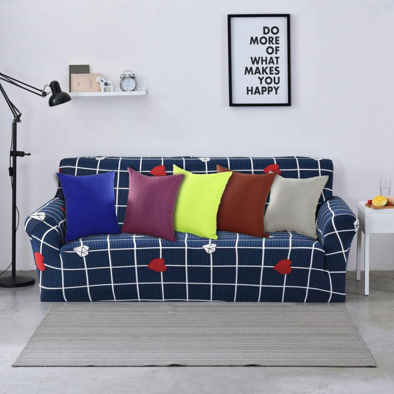 Honana WX-137 40x40cm Katı Renkli Yastık Kılıf Koltuk Minderleri Yatakhane Ofisleri Araba Sandalye Yastık Kılıbı Noel