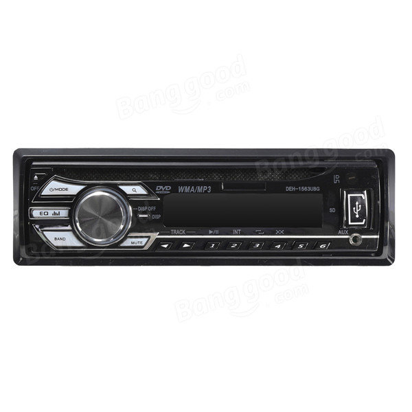 Bluetooth Авто В Dash Stereo Радио Автомагнитола DVD-плеер MP3 WMA USB AUX SD FM