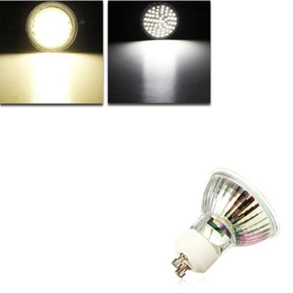 GU10 LED หลอดไฟ 5 วัตต์ AC 110V 60 SMD 3528 จุดขาว / Warm White Spotlight