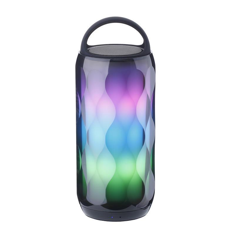 Портативный LED Colorful Беспроводной Bluetooth Динамик TF-карта Громкая связь Басовый стереодинамик