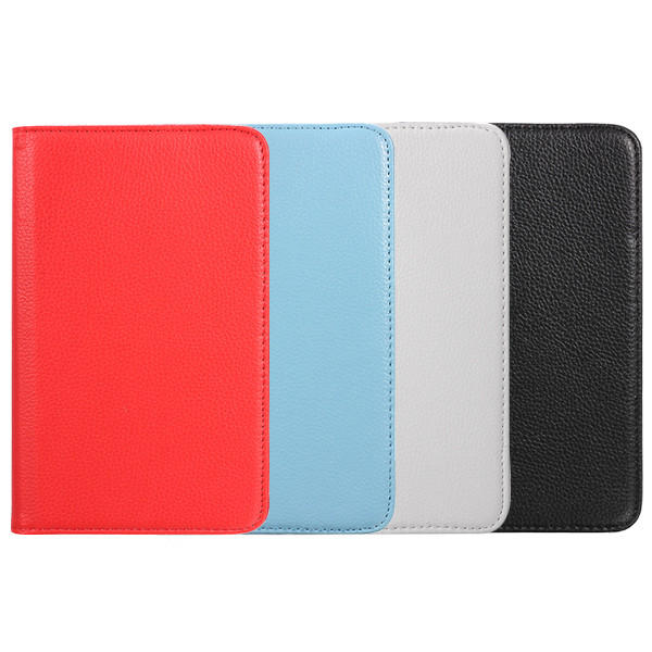 Folding Stand Revolving PU Leather Case Cover 7 Inch for Samsung T280