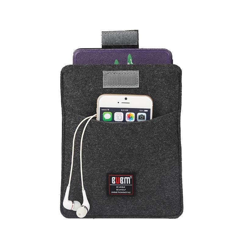 BUBM BMDH001 Felt Cover for Kindle Paperwhite Soft Shockproof Travel Holder for All Paperwhite bag