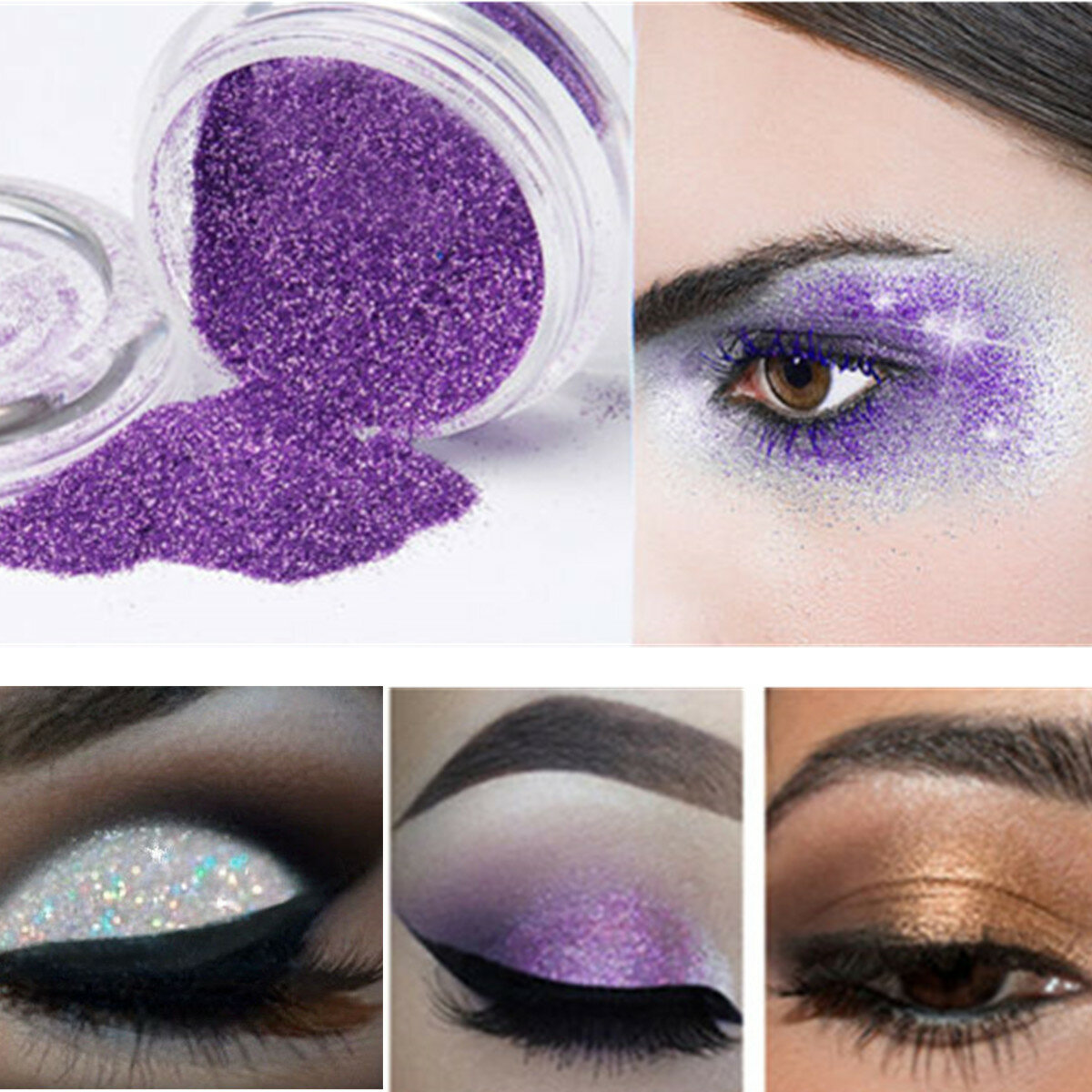 Nail Decoration Makeup Loose Powder Glitter Profession Eyeshadow Beauty Eye Shadow Pigment