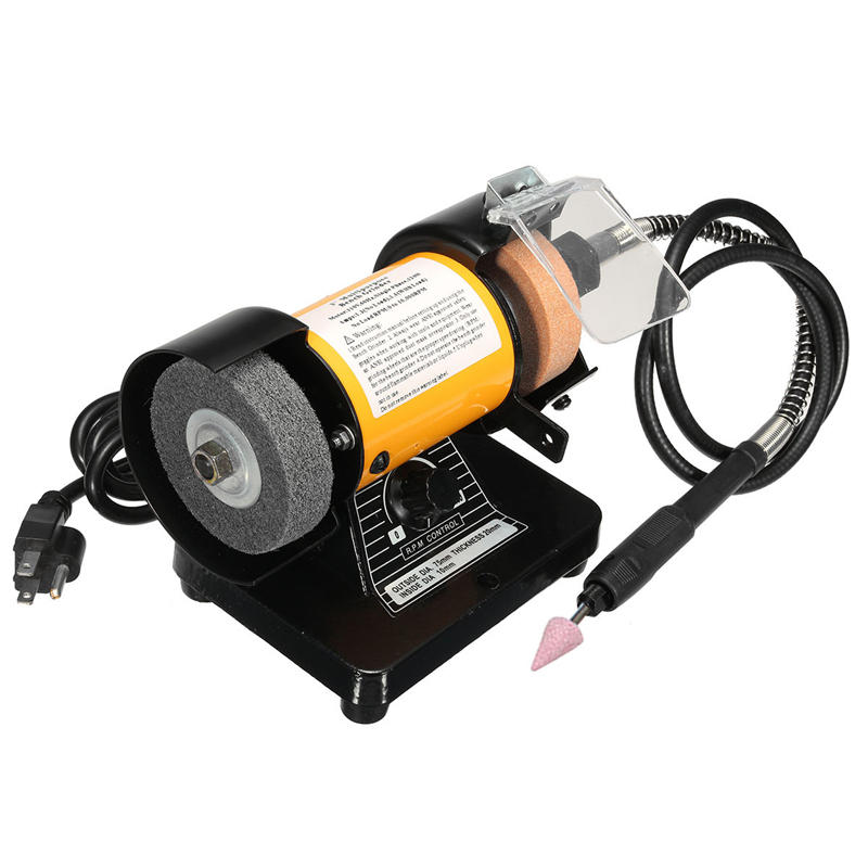 110V AC 3 pouces Mini broyeur à billes Flexible Shaft Rotary Grinder Polisher Tool