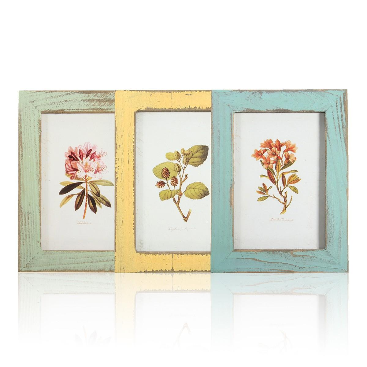Vintage 5inch Solid Wood Photo Picture Frame Wall Hanging Shabby ...