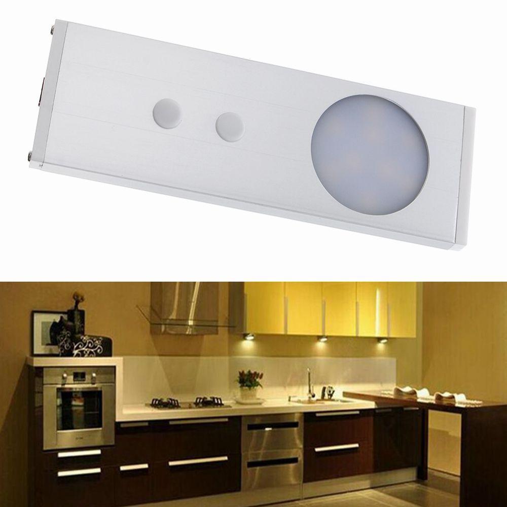 1.8W 9 LED IR赤外線モーションキャビネットライトセンサーナイトランプウォームホワイト/ホワイトDC12V