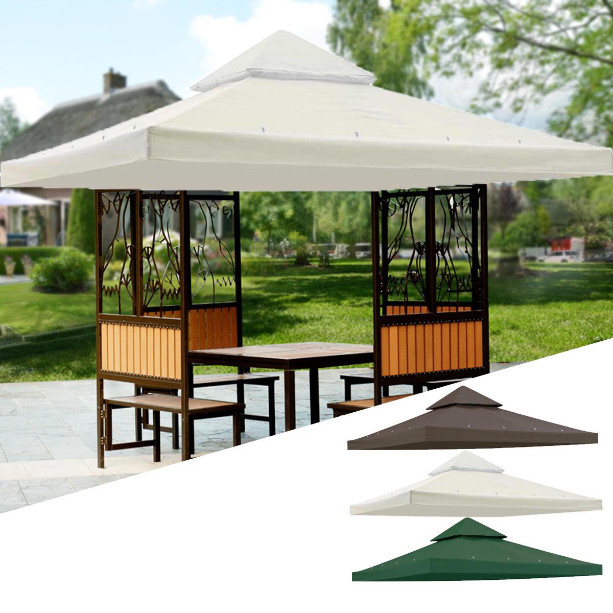 """Nouveau 10×10 """" Pavillon De Jardin Terrasse Haut Couvert Canopée ..."""