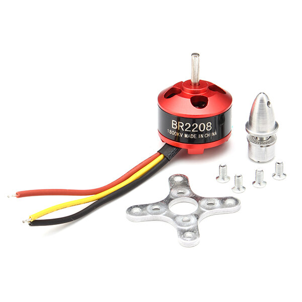 Racerstar BR2208 1800KV 2-3S Brushless Motor For RC Models