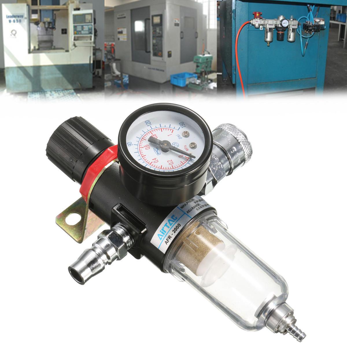 Afr 2000 14 inch air compressor filter water separator trap tools afr 2000 14 air compressor filter water separator trap tools kit regulator fandeluxe Images