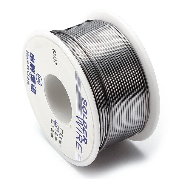 100g 63/37 0.6/0.8/1.0/1.2/1.8mm Estaño Polmo Bobina de Soldadura Cable de Soldadura con Núcleo de Resina