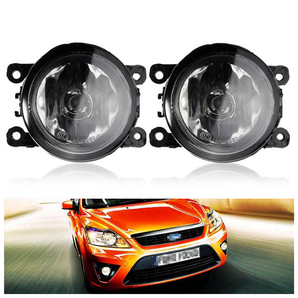 2x Amber Yellow Auto Fog Light Lamps For 2007 2017 Ford Focus W H11 55w Bulbs Cod