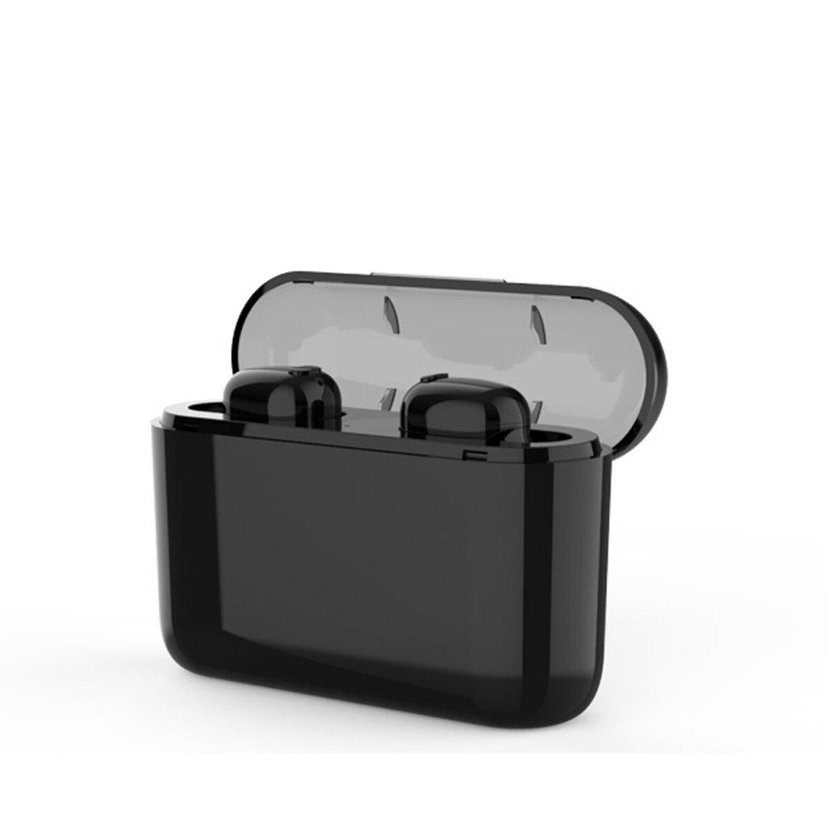 [Bluetooth 5.0] TWS Auriculares inalámbricos Auriculares Auricular estéreo con 2200mAh de carga Caja Power Bank