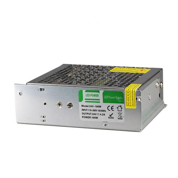 100W Switching Power Supply 110-260V To 24V 4A For LED Strip Light