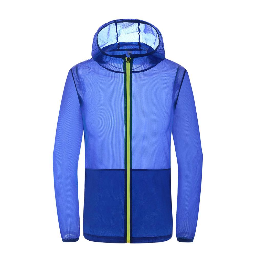 Mouvement extérieur Veste Coupe-vent Séchage Vitesse Protection contre le soleil Camping Vêtements de randonnée