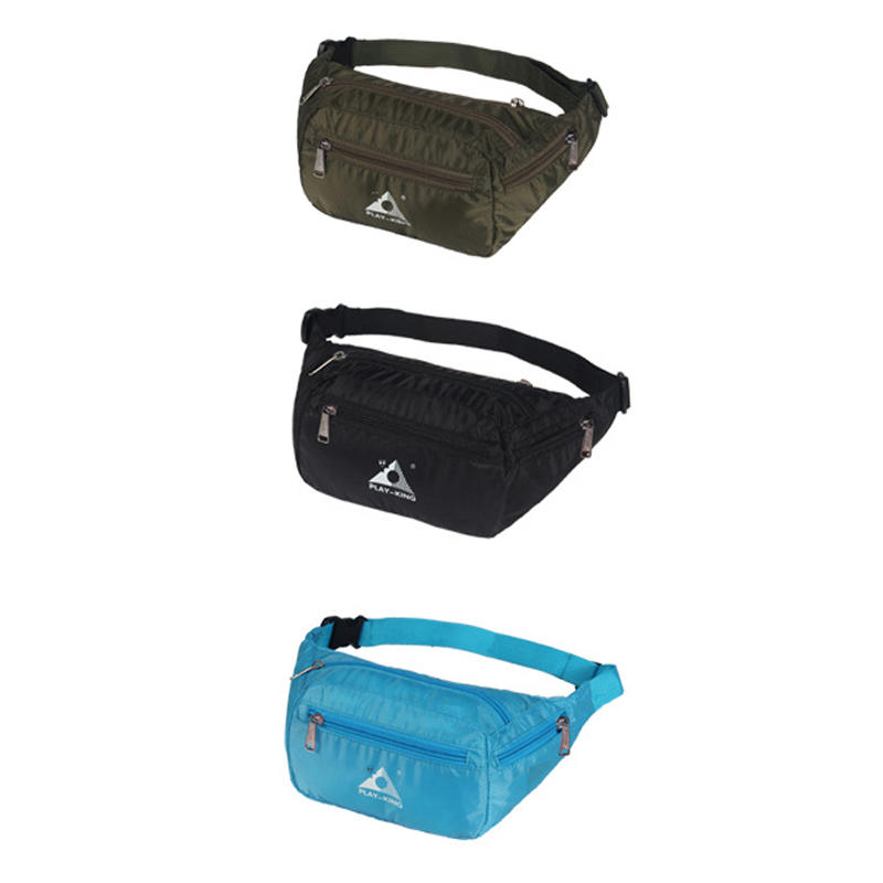 eb3c3622800e23 IPRee® Outdoor Running Travel Waist Bag Waterproof Foldable Fanny Pack For  Men Women Jogging Gym - Blue COD
