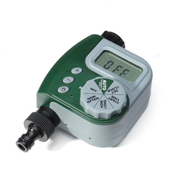 Programmable Hose Automatic Irrigation Timer Watering Clock Gardening Smart Tools LED Screen Timer