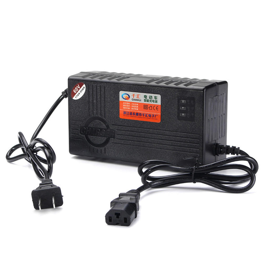 180-240V 20AH Smart Charger For Motorcycle Scooter Wheel Electric Bicycle Lead Acid Battery