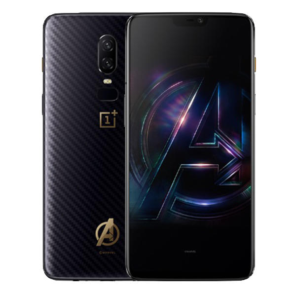 b366f43618d OnePlus 6 The Avengers Version AMOLED Android 8.1 8GB RAM 256GB ROM  Snapdragon 845 4G Smartphone - Black