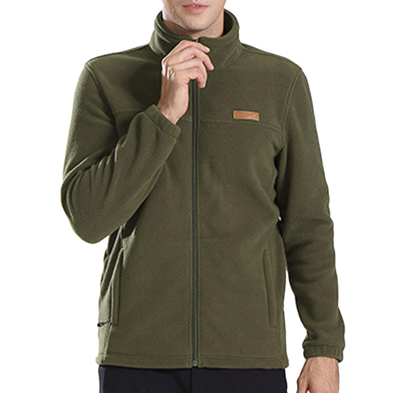 32d4b31ce3611 Other Warehouse. Send me a coupon on Messenger. Men s Fashion Polar Fleece  Casual Soft Comfy Breathable Pure Color Warm Outdoor Jacket ...