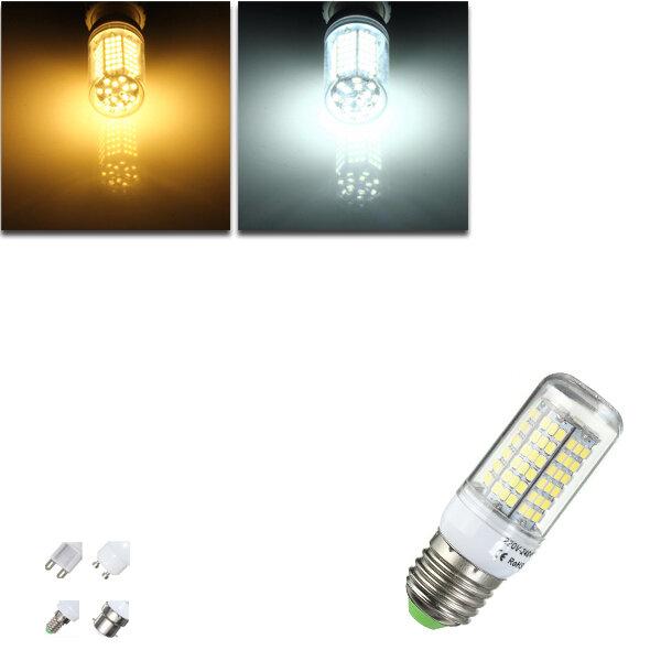 / b22 7w 2835 smd LED bulbo del maíz de la lámpara casa e27 / e14 / G9 / gu10 caliente / 220v blanco