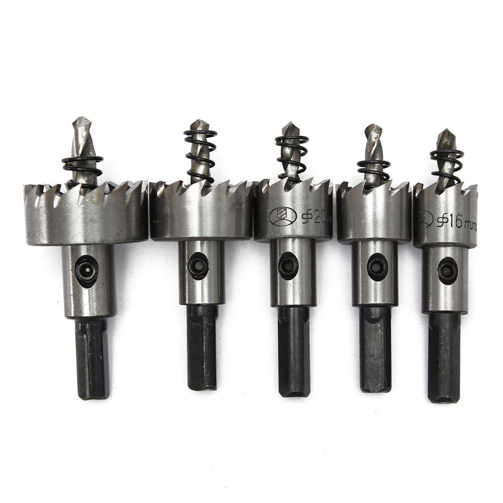 Drill Bits 0-14mm Core Drill Bit Steel Hole Expanding Saw Opener Reamer Installation Kit For Rc Car Aircraft Model Toy Hand Tools Strong Packing