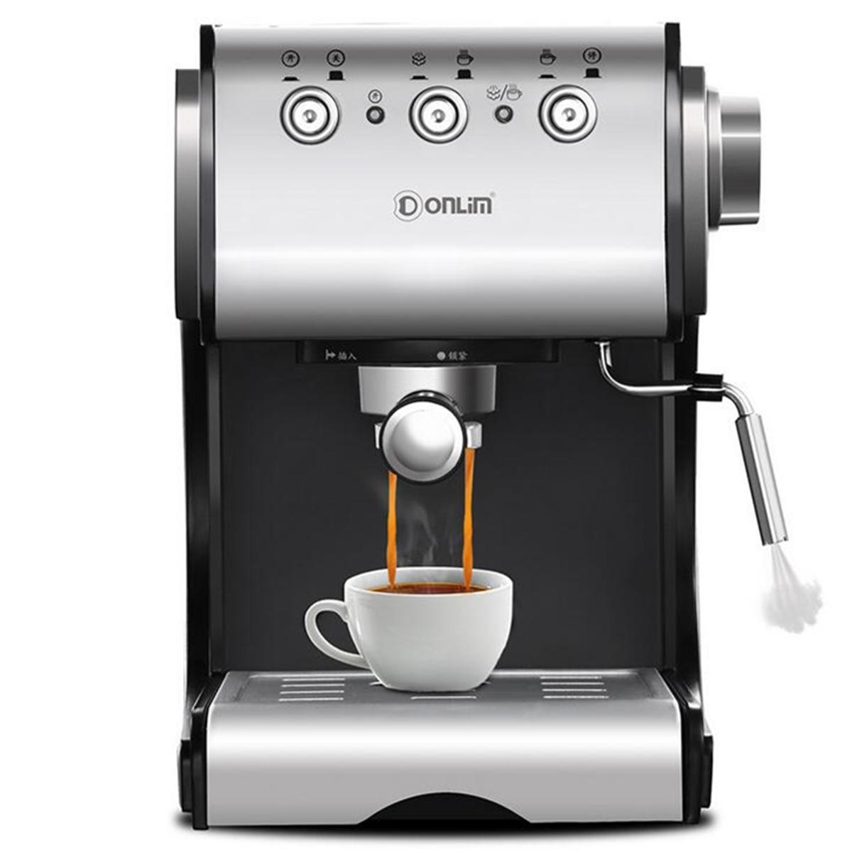 20Bar DL-KF500S 반자동 커피 메이커 Barista Steam 가정용 공작 기계